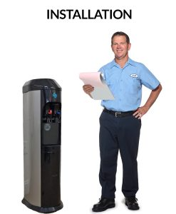Installation of your bottleless water cooler