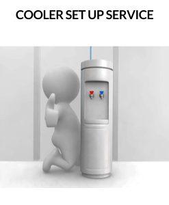 BottleLess water cooler set up service