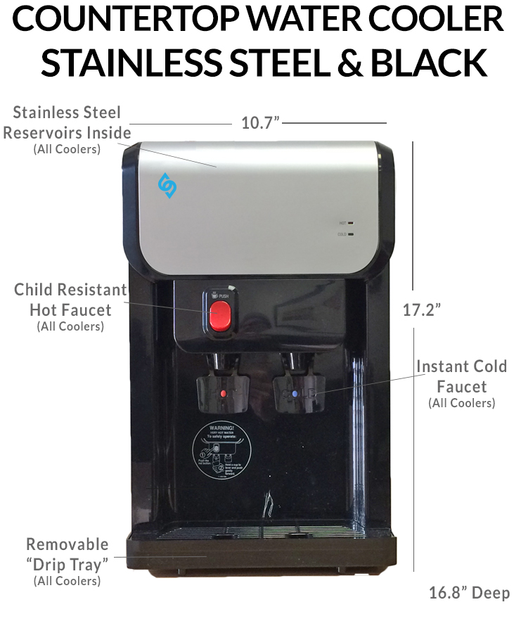 BDX1 CT Countertop BottleLess Water Cooler Schematic