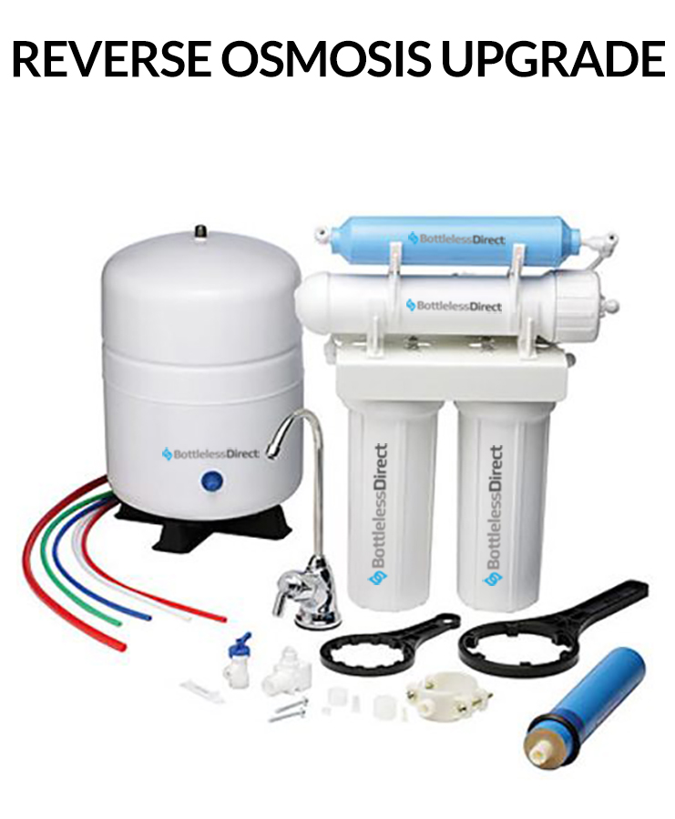Reverse Osmosis BottleLess Water cooler