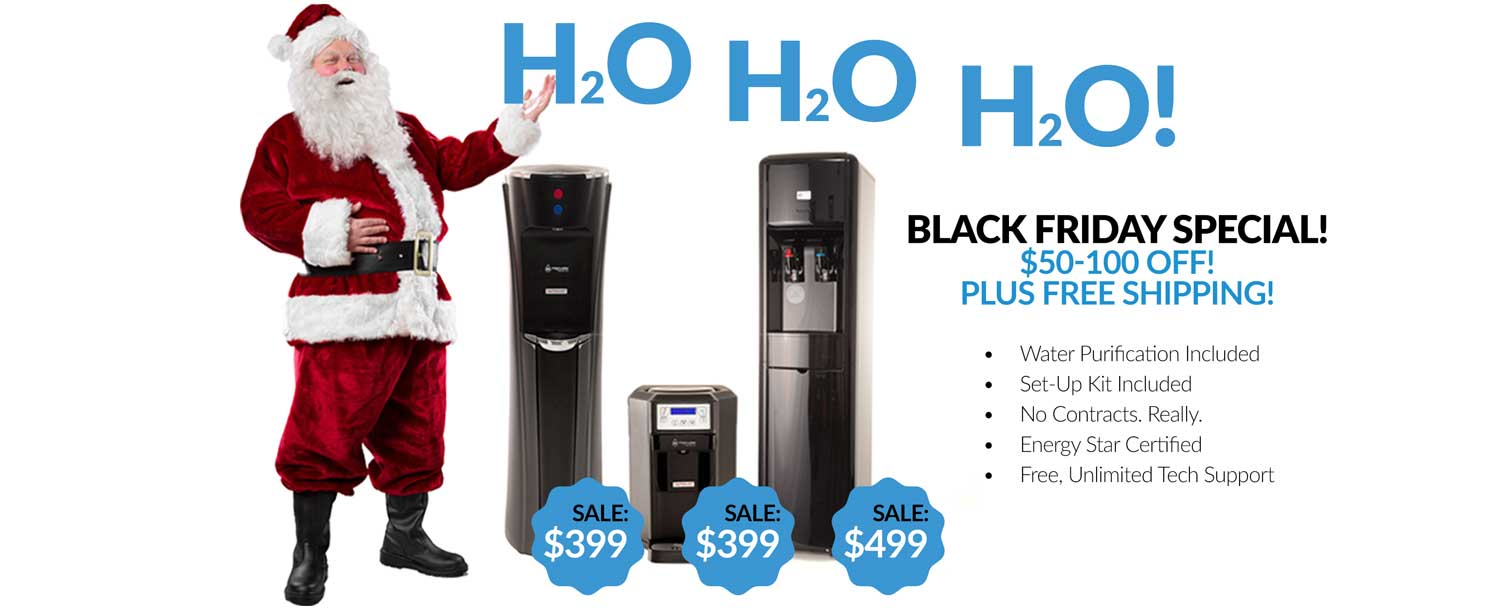 MOJO BottleLess Water coolers - Black Friday