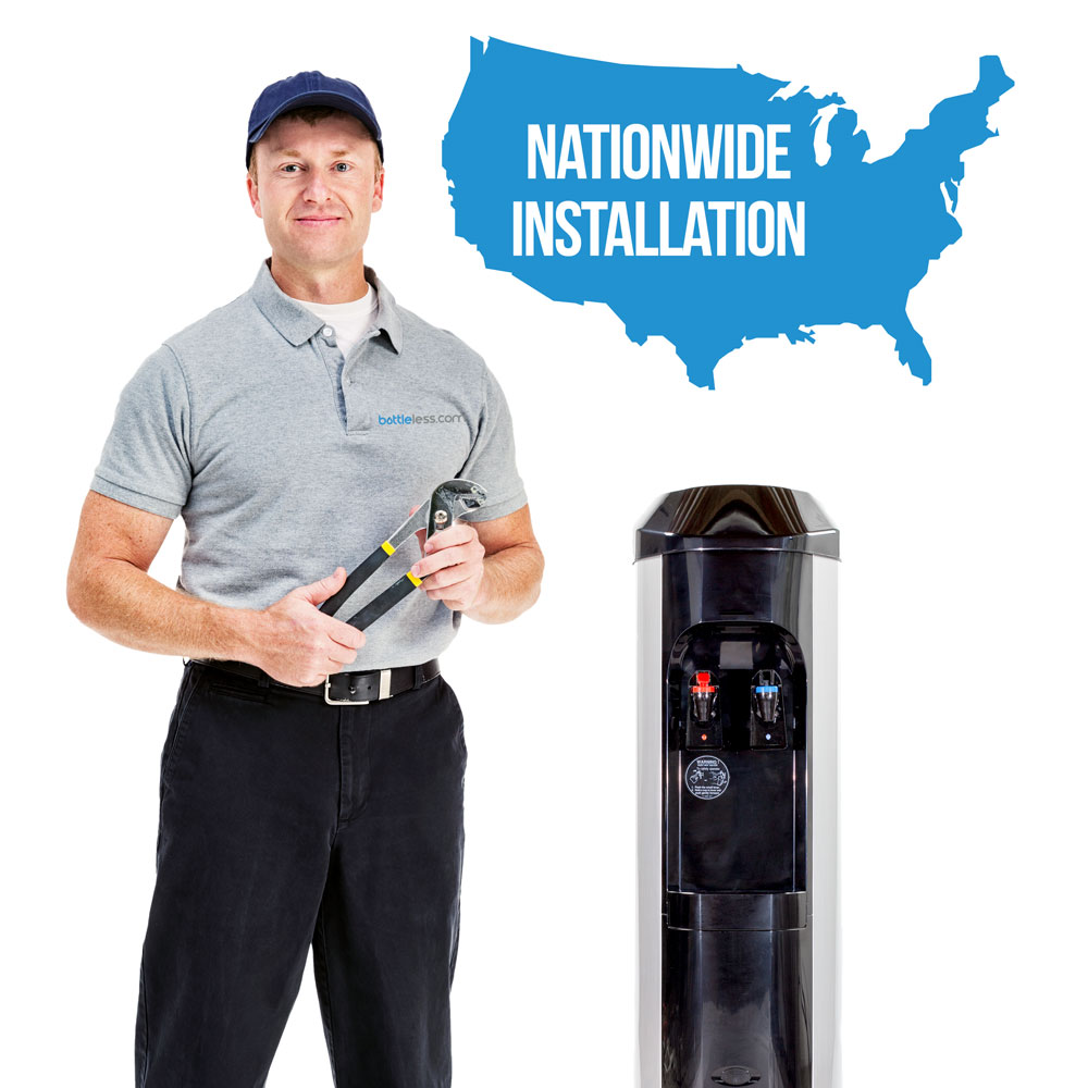 bottleless cooler installation service