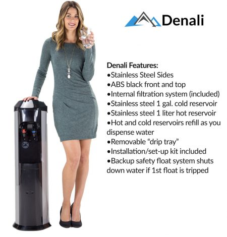 denali bottleless water cooler features