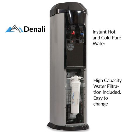 denali bottleless water cooler filtration inside