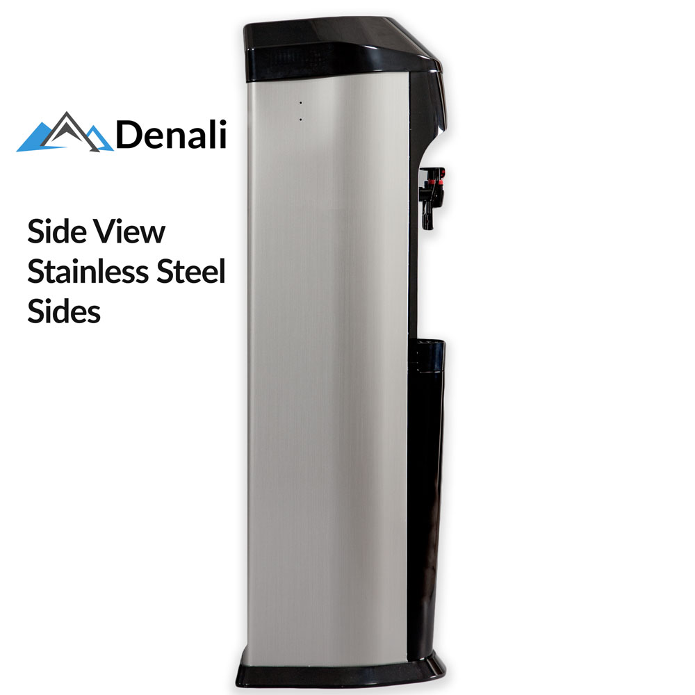 denali bottleless water cooler side view