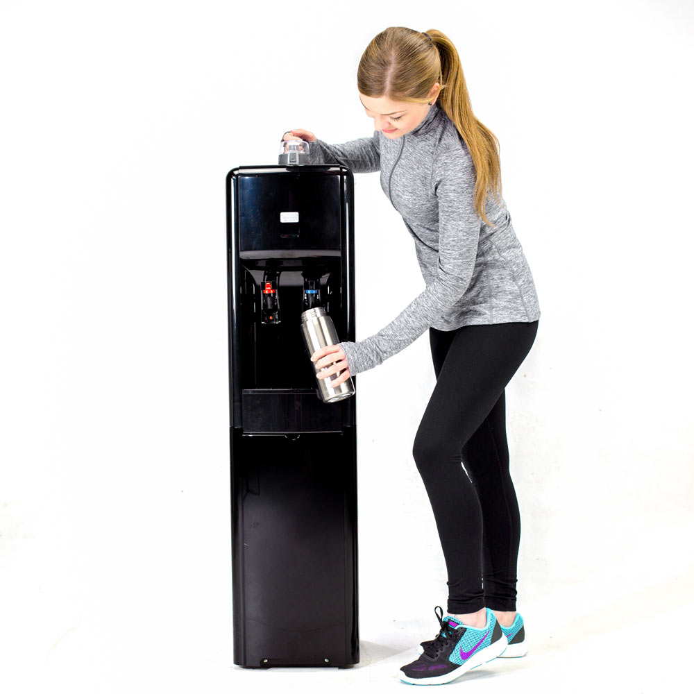 the everest bottleless water cooler is great for gyms
