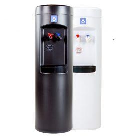 peak bottleless water cooler in black or white