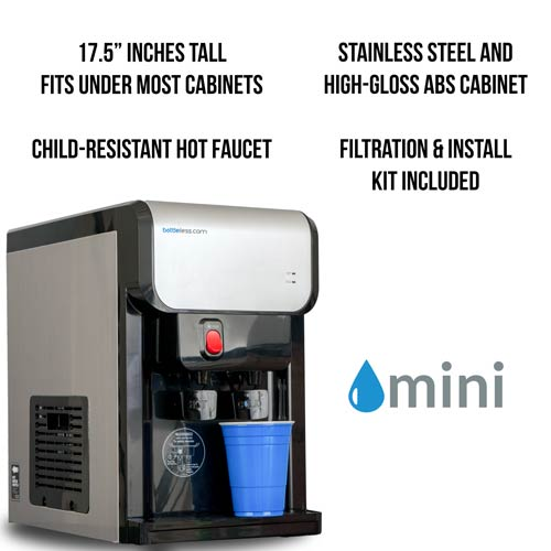 Big Things Really Do Come In Small Packages Our Mini Bottleless Water Cooler